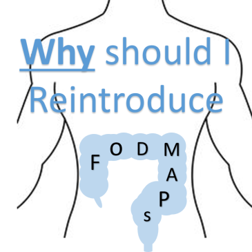 Why should I Reintroduce FODMAPs